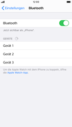 Apple iPhone 8 - iOS 14 - Bluetooth - Verbinden von Geräten - Schritt 7