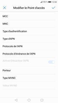 Huawei Mate 9 - Internet et roaming de données - Configuration manuelle - Étape 12