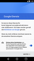 LG X Power - E-Mail - Konto einrichten (gmail) - Schritt 14