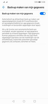 Huawei Mate 20 Lite - toestel resetten - back-up maken met jouw account - stap 9
