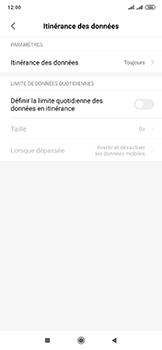 Xiaomi Mi Mix 3 5G - Internet et roaming de données - Désactivation du roaming de données - Étape 5