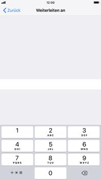 Apple iPhone 7 Plus - iOS 12 - Anrufe - Rufumleitungen setzen und löschen - Schritt 7