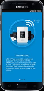 Alcatel MiFi Y900 - Prise en main - Connection du modem à votre smartphone ou tablette - Étape 4