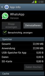 Samsung Galaxy Trend Lite - Apps - Eine App deinstallieren - Schritt 6