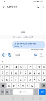 Huawei P Smart Z - Contact, Appels, SMS/MMS - Envoyer un SMS - Étape 9