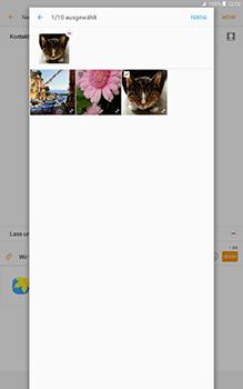 Samsung Galaxy Tab A 10-1 - MMS - Erstellen und senden - Schritt 24