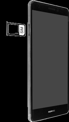 Huawei Mate S - SIM-Karte - Einlegen - Schritt 4