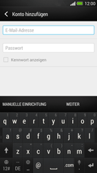 HTC One - E-Mail - Manuelle Konfiguration - Schritt 7