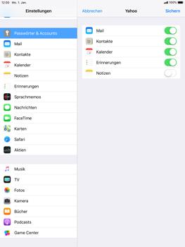 Apple iPad mini 2 - E-Mail - Konto einrichten (yahoo) - 8 / 11