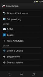 Sony Xperia Z - Software - Installieren von Software-Updates - Schritt 5