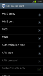 Samsung Galaxy S III LTE - MMS - Manual configuration - Step 14