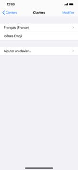Apple iPhone XR - iOS 13 - Prise en main - Comment ajouter une langue de clavier - Étape 6
