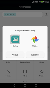 Huawei Mate S - MMS - Sending pictures - Step 13