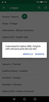 Huawei P20 - Android Pie - Operazioni iniziali - Come aggiungere una lingua alla tastiera - Fase 10