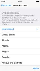Apple iPhone 5S mit iOS 8 - Apps - Konto anlegen und einrichten - Schritt 21
