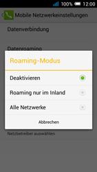 Alcatel Pop C7 - Ausland - Im Ausland surfen – Datenroaming - 2 / 2