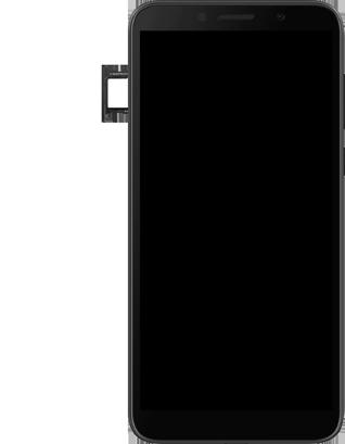 Huawei Y5P - Premiers pas - Insérer la carte SIM - Étape 6