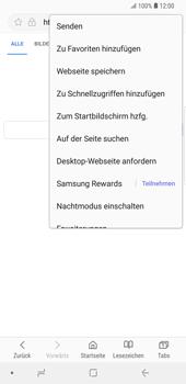 Samsung Galaxy S9 Plus - Internet und Datenroaming - Verwenden des Internets - Schritt 8