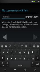 HTC One Max - Apps - Konto anlegen und einrichten - 7 / 22