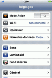 Apple iPhone 3G - Internet - configuration manuelle - Étape 4