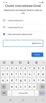 Samsung Galaxy Note20 - Applications - Créer un compte - Étape 12