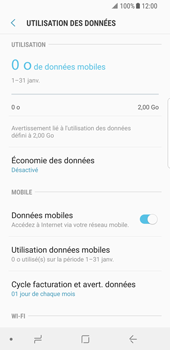 Samsung Galaxy S8 - Android Oreo - Internet - Désactiver les données mobiles - Étape 6