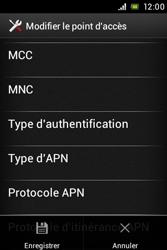 Sony ST21i Xperia Tipo - Internet - Configuration manuelle - Étape 15