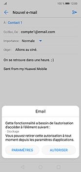 Huawei P20 lite - E-mails - Envoyer un e-mail - Étape 12