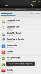 HTC One Max - Apps - Eine App deinstallieren - Schritt 8