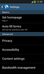 Samsung Galaxy Ace III - Internet and data roaming - Manual configuration - Step 27