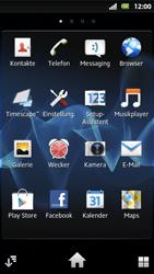 Sony Xperia Sola - Apps - Konto anlegen und einrichten - 3 / 19