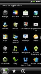 HTC X515m EVO 3D - Internet - Navigation sur Internet - Étape 2