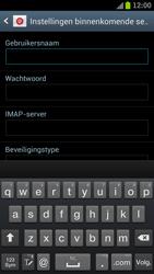 Samsung I9300 Galaxy S III - E-mail - Handmatig instellen - Stap 11