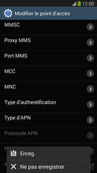 Samsung Galaxy Note III LTE - Internet et roaming de données - Configuration manuelle - Étape 15