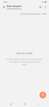 Samsung Galaxy A50 - E-mails - Ajouter ou modifier votre compte Yahoo - Étape 5