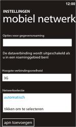 Nokia Lumia 610 - netwerk en bereik - gebruik in binnen- en buitenland - stap 6