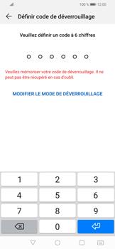 Huawei P Smart (2019) - Sécuriser votre mobile - Activer le code de verrouillage - Étape 6
