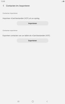 Samsung galaxy-tab-a-8-0-lte-2019-sm-t295 - Contacten en data - Contacten kopiëren van toestel naar SIM - Stap 7