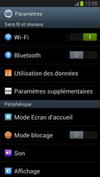 Samsung Galaxy S III - MMS - Configuration manuelle - Étape 4