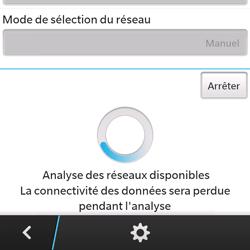 BlackBerry Q5 - Réseau - utilisation à l'étranger - Étape 11