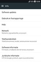 HTC 10 - Android Nougat - Software update - update installeren zonder PC - Stap 5