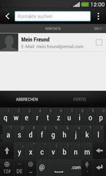 HTC Desire 500 - E-Mail - E-Mail versenden - Schritt 6