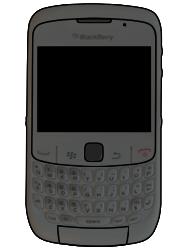BlackBerry 8520 Curve - SIM-Karte - Einlegen - Schritt 6