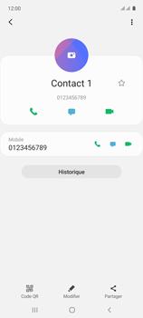 Samsung Galaxy A71 - Contact, Appels, SMS/MMS - Ajouter un contact - Étape 10