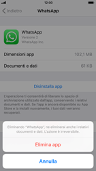 Apple iPhone 6 - iOS 11 - Applicazioni - Come disinstallare un