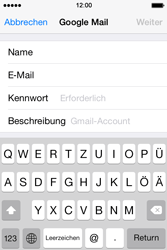 Apple iPhone 4S iOS 7 - E-Mail - 032a. Email wizard - Gmail - Schritt 8