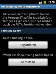 Samsung S5360 Galaxy Y - Software - Update - Schritt 8