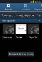 Samsung S6310 Galaxy Young - Internet - Navigation sur Internet - Étape 11