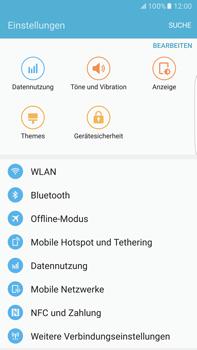 Samsung Galaxy S6 edge+ - Netzwerk - Netzwerkeinstellungen ändern - 4 / 7