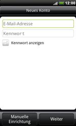 HTC A8181 Desire - E-Mail - Konto einrichten - Schritt 6